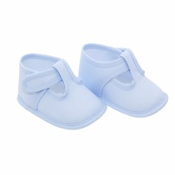 Cambrass - Baby T-Strap Booties Blue 17