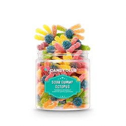 Candy Club - Sour Gummy - Octopus