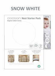 Cocoon Furniture - Nest Starter Sheet Pack - Snow White