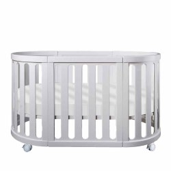 Cocoon Furniture - Nest 4-in-1 Crib and Bassinet Complete System - White
