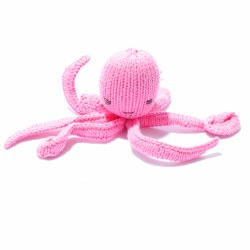 Knitted World - Knitted Dolls - Octopus Light Pink