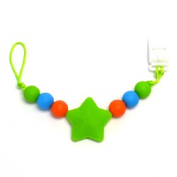 Nini & Loli Find - Star Paci Holder - Green