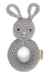 Cheengoo - Crochet Ring Rattle - Bunny