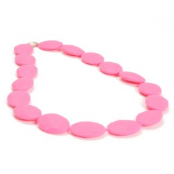Chewbeads - Hudson Necklace Pink