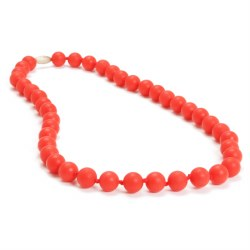Chewbeads - Jane Necklace Red