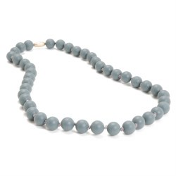 Chewbeads - Jane Necklace Grey
