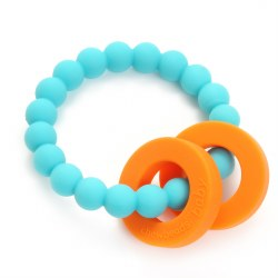 Chewbeads - Mulberry - Turquoise