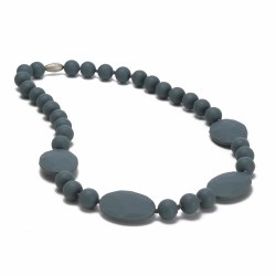 Chewbeads - Perry Necklace - Grey