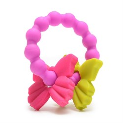 Chewbeads - Silicone Central Park Teether - Butterfly