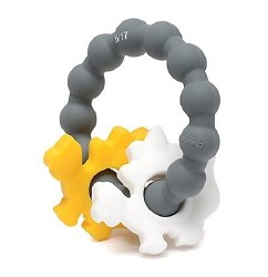 Chewbeads - Silicone Central Park Teether - Dinosaur