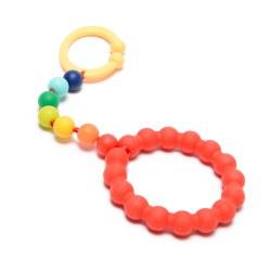 Chewbeads - Gramercy Stroller Toy - Rainbow