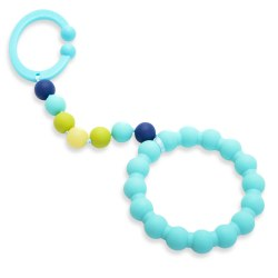 Chewbeads - Gramercy Stroller Toy - Turquoise
