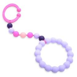 Chewbeads - Gramercy Stroller Toy - Violet