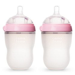 Como Tomo - Bottle 8oz Pink 2pack
