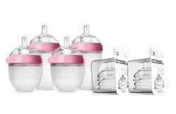 Como Tomo - Bottle Gift Set - Pink