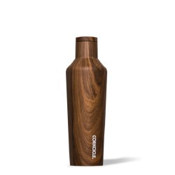 Corkcicle - Canteen Water Bottle & Thermos 16oz - Walnut Wood