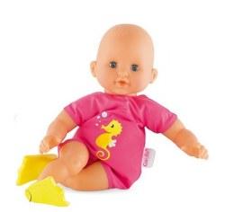 Corolle - Premier Bebe Bath Plouf Pink Doll FGD120