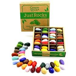 Crayon Rocks - Just Rocks in a Box - 32 Pieces