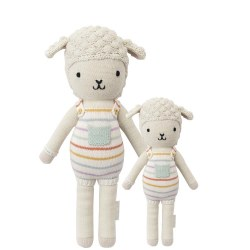 Cuddle + Kind - Hand-Knit Doll  Avery The Lamb Regular