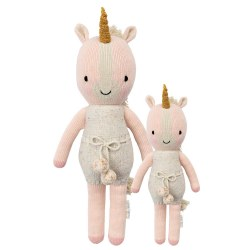 Cuddle + Kind - Hand-Knit Doll  Ella The Unicorn Little