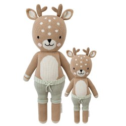 Cuddle + Kind - Hand-Knit Doll  Elliot The Fawn Little