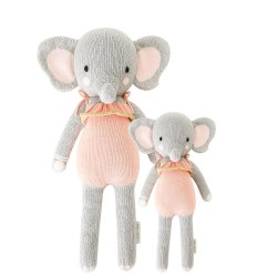 Cuddle + Kind - Hand-Knit Doll  Eloise The Elephant Little