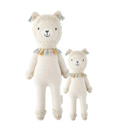 Cuddle + Kind - Hand-Knit Doll  Lucas The Llama Regular