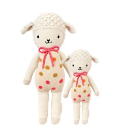 Cuddle + Kind - Hand-Knit Doll  Lucy The Lamb Little