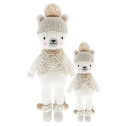Cuddle + Kind - Hand-Knit Doll  Stella Polar Bear Regular