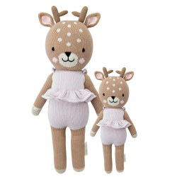 Cuddle + Kind - Hand-Knit Doll  Violet The Fawn Little