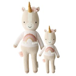 Cuddle + Kind - Hand-Knit Doll  Zara The Unicorn Little