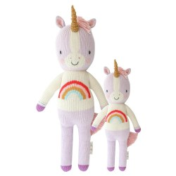 Cuddle + Kind - Hand-Knit Doll  Zoe The Unicorn Little