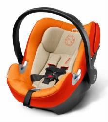 Cybex -  Aton Q Infant Car Seat - Autumn Gold