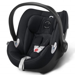 Cybex -  Aton Q Infant Car Seat - Stardust Black