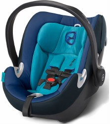 Cybex -  Aton Q Infant Car Seat - True Blue