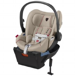 Cybex -  Cloud Q Infant Car Seat Special Edition Scuderia Ferrari - Victory Silver