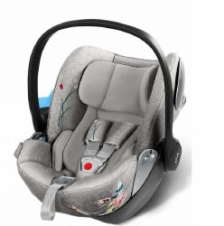 Cybex -  Cloud Q Sensor Safe Infant Car Seat - Koi