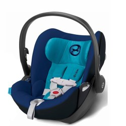 Cybex -  Cloud Q Infant Car Seat - True Blue