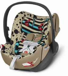 Cybex -  Cloud Q+ Infant Car Seat - One Love By Karolina Kurkova