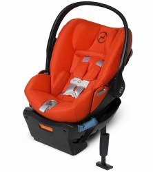 Cybex -  Cloud Q SensorSafe Infant Car Seat - Autumn Gold