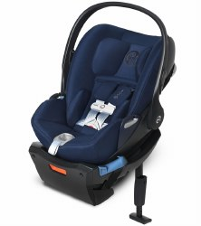 Cybex -  Cloud Q SensorSafe Infant Car Seat - Midnight Blue