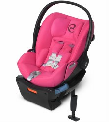Cybex -  Cloud Q SensorSafe Infant Car Seat - Passion Pink