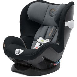 Cybex -  Sirona M with SensorSafe2.0 Convertible Car Seat - Pepper Black