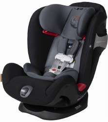 Cybex -  Eternis S SensorSafe All-in-One Car Seat - Pepper Black