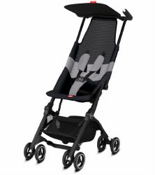 GB Pockit -  Air All-Terrain Compact Stroller - Velvet Black