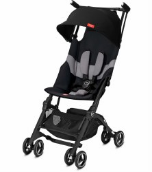 GB Pockit -  Plus All-Terrain Compact Stroller - Velvet Black