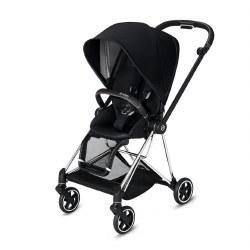 Cybex -  2019 Mios 2 Complete Stroller Chrome Black - Premium Black