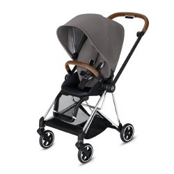 Cybex -  2019 Mios 2 Complete Stroller Chrome Brown - Manhattan Grey