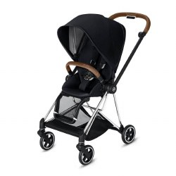 Cybex -  2019 Mios 2 Complete Stroller Chrome Brown - Premium Black