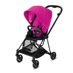 Cybex -  2019 Mios 2 Complete Stroller Matte Black - Fancy Pink